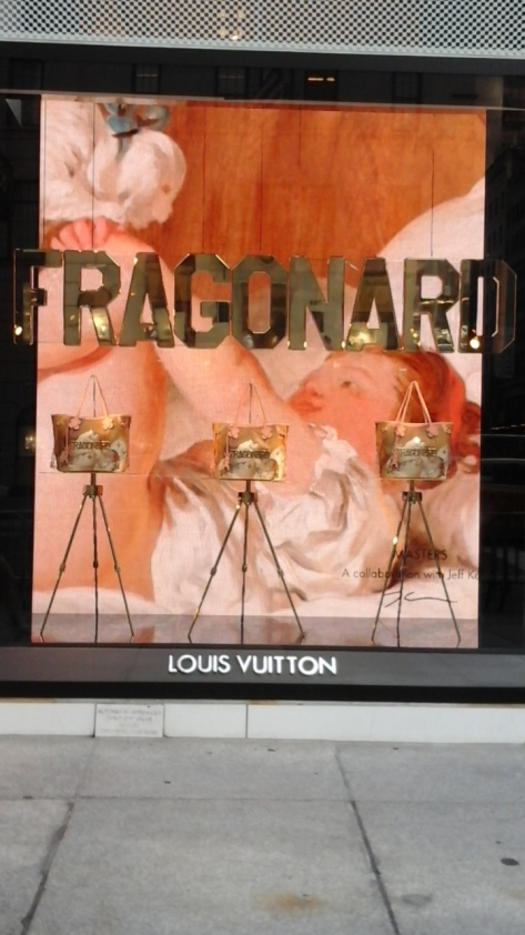 Frangonard LVMH Window