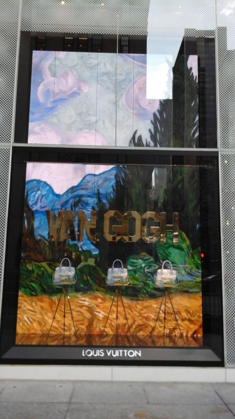 VanGogh LVMH Window