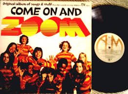 Zoom PBS 70's Album Cover with Record